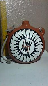 Native American Pottery Canteen, Jemez Pueblo, New Mexico  C.Gachupin