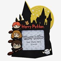 Magnetic Picture Frame Harry Potter Chibi Hogwarts Castle Moon Stars Hedwig