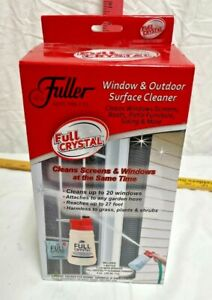 Fuller Brush Co Full Crystal Window & Outdoor Surface Glass Cleaner NIB Sprayer