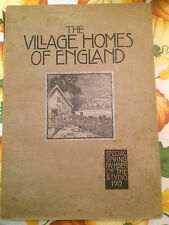 architettura - the village homes of england special spring 1912       2/11/15