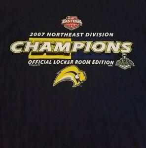 Buffalo Sabres 2007 NORTHEAST DIVISION CHAMPIONS, OFFICIAL LOCKER ROOM T-Shirt!