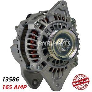 165 AMP 13586 Alternator Eagle Mitsubishi NEW High Output HD USA Performance