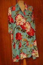 Gattina Hauskleid Gr. 40 Blumen – Druck  93201