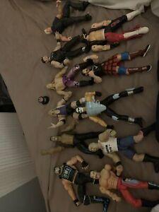 Wwf Wwe Wrestling Figures X11