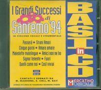 Sanremo 1994 '94 Le Basi Musicali - Pausini/Zarrillo/Faletti Cd Perfetto