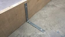 Industrial metal Shelf Brackets - Handmade at The Iron Mill UK - 1x Pair 20x20cm