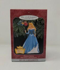 Hallmark Keepsake 1998 Princess Aurora Disney's Sleeping Beauty With Fairies