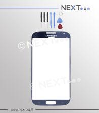 Samsung  S4 GT-i9500-9505 blu VETRO BIADESIVO per schermo touch screen + kit