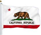 3'x5' Polyester CALIFORNIA STATE FLAG CA USA Bear Republic Outdoor Banner