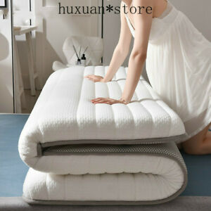 New Fashion Latex Mattress Folding Mattress Full Size Bed Breathe Foam Tatami