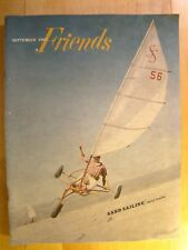 Friends Magazine September 1967 Sand Sailing Fashions Art With Mirrors GM Ads