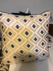Croscill Kayden Square Fashion Pillow, New
