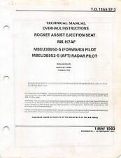 MK-H7 Ejection Seat Overhaul (Air Force Seat) Flight Manual - CD version