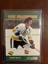 2012-13 Score The Franchise Johnny Bucyk Bruins!!!