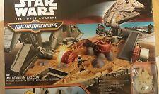 BNIP Star Wars Force Awakens Micro Machines Falcon Playset Vehicles Empire Gift