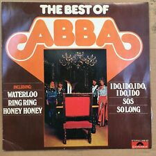 LP ABBA * BEST OF * India * signifiant