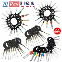 57/70Pcs Set Pin Ejector Wire Kit Extractor Auto Terminal Removal Connector USA
