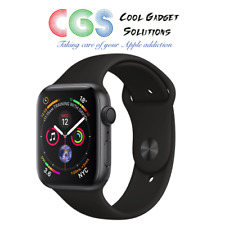 Apple Watch Series 4 44mm Space Grey Aluminum Case with Black Sport Band (GPS)