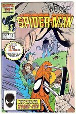 Web of Spider-Man #16 (Marvel 1984 vf/nm) Marc Silvestri and Kyle Baker art
