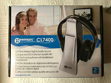 Geemarc CL7400 Amplified  Digital TV Headset - Great for those with hearing loss