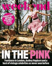 UK Weekend Magazine FEBRUARY 2018: AUDREY HEPBURN COVER STORY ~ TOM BURKE