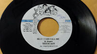 "Tenor Saw - Send Come Call Me / Reggae 7"" Youth Promotion"