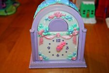 Vintage 1993 Fairy Winkles Twinkle Time Nursery Clock-Used