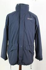 BERGHUAS Gore-Tex Blue Fleece Lined Jacket size M