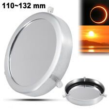 1 Pcs 110~132 mm Solar Filter Baader Film Metal Cover For Astronomical Telescope