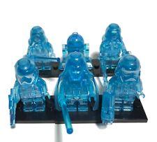 6 Hologram Figs Darth Vader Stormtrooper Palpatine R2D2 Revan Building Blocks