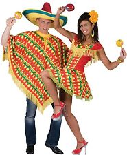 Couples Ladies AND Mens Mexican Spanish Wild West Fancy Dress Costumes Outfits
