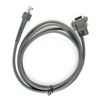 2m Rj45 to RS232 Barcode Scanner Cable For Symbol LS1203 LS2208 LS4008I LS3578