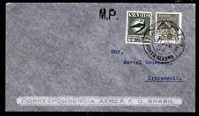Brasilien Varig V 21, auf Luftpost-Brief Porto Alegre 29.6.34