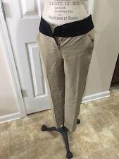 NWT! Women's Ann Taylor Loft Pants Size 0 Black & Tan MSRP: $98.00