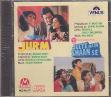 Jurm / Jeete Hain shaan Se  [Cd] melody  / uk made cd 1st edtion rare media