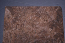 Walnut Burl Raw Wood Veneer Sheets 8 x 12 inches 1/42nd thick        IFPa7369-19