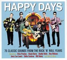 HAPPY DAYS - 75 CLASSIC SOUNDS FROM THE ROCK'N'ROLL YEARS (NEW SEALED 3CD)