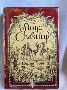 1940 The Stone of Chastity by Margery Sharp 1st Edition 2nd Printing Dust Cover