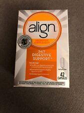 New Align 24/7 Digestive Care Probiotic Supplement 42 Capsules Exp:07/2020+