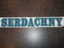 SWIFT CURRENT BRONCOS   Game Used Nameplate -  WHL  CHL    PLEASE READ BELOW