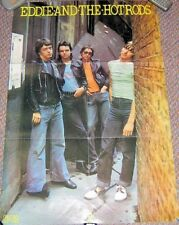 EDDIE AND THE HOT RODS U.K. SPECIAL EDITION No 60 PROMO POSTER 1976 DEBUT ALBUM