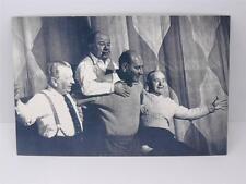 *VINTAGE 'THE NOSTALGIA POSTCARD'-LONDON, DECEMBER 1954-THE CRAZY GANG*