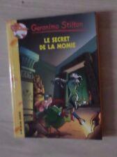 livre Geronimo Stilton Tome44 le secret de la momie