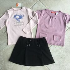 Ensemble lot fille Benetton, Okaidi 5-6 ans en TBE