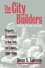 The City Builders: Property Development in New York and London, 1980-2-ExLibrary