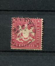 Wurtemberg nº 19x con sello. bien gezähnt (d1020)
