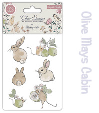 English Garden Clear Stamp Set - Hackney & Co Rabbit Mice Mouse and Pears