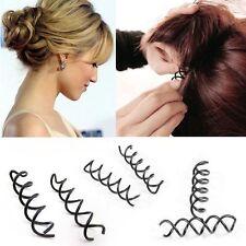 Damen Spiralförmige Haarspange Haarklemme Haarnadel 10 Stück Haarschmuck
