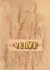 GEORGES BRAQUE - GRAINS * ORIGINAL LITHOGRAPH from VERVE 1955