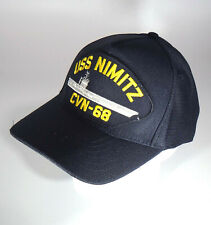 USS NIMITZ CVN-68 (MADE IN USA) US NAVY HAT OFFICIALLY LICENSED BALL CAP